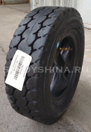 Шинокомплект 15 x 4 1/2 - 8 / 12 PR AIR 570 SOLIDEAL AIR 570 BLACK + FullSet (JS2)